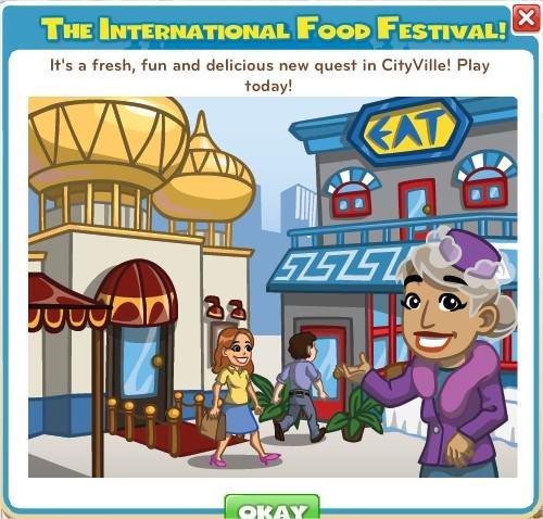 CityVille, Food Festival