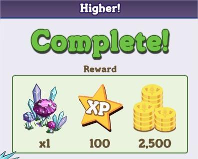 Higher!
