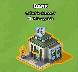 CityVille, Bank