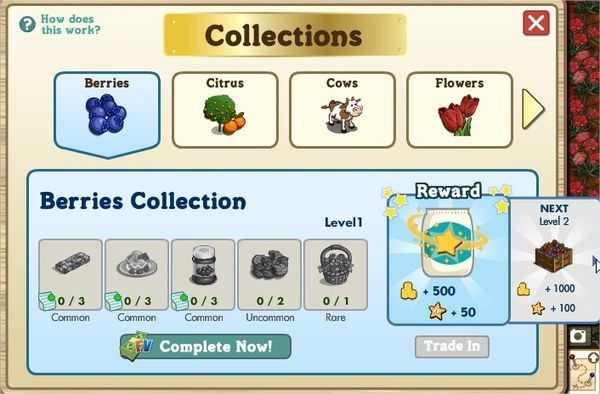 farmville, collection