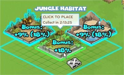CityVille, Habitat