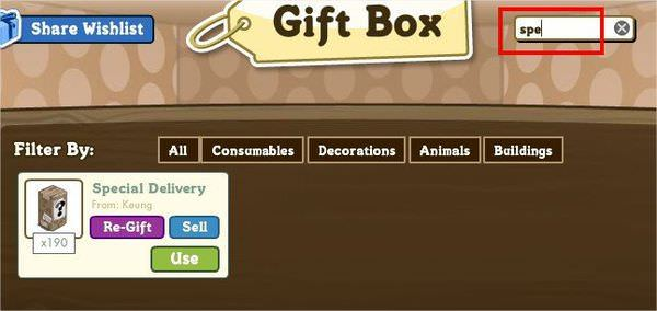 FarmVille, Gift box