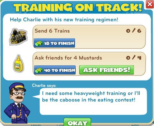 Training On Track!