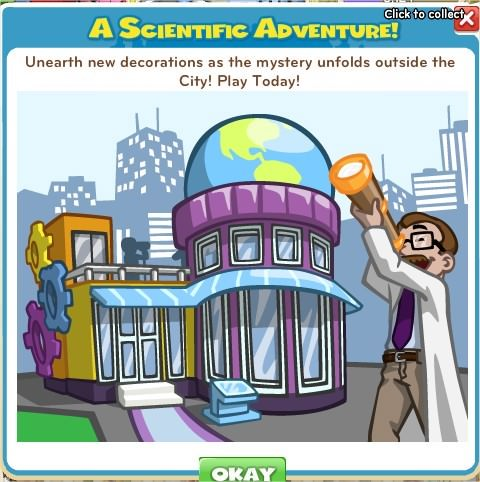 CityVille, Scientific