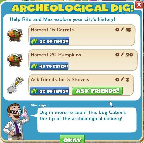 Archeological Dig!