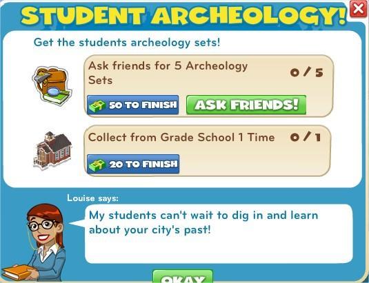 Student Archeology!