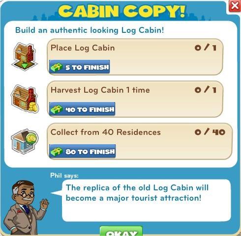 Cabin Copy!