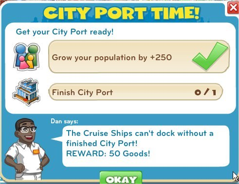 City Port Time!