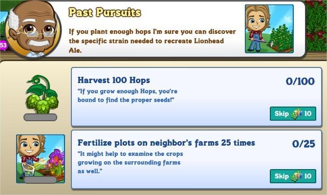 Past Pursuits