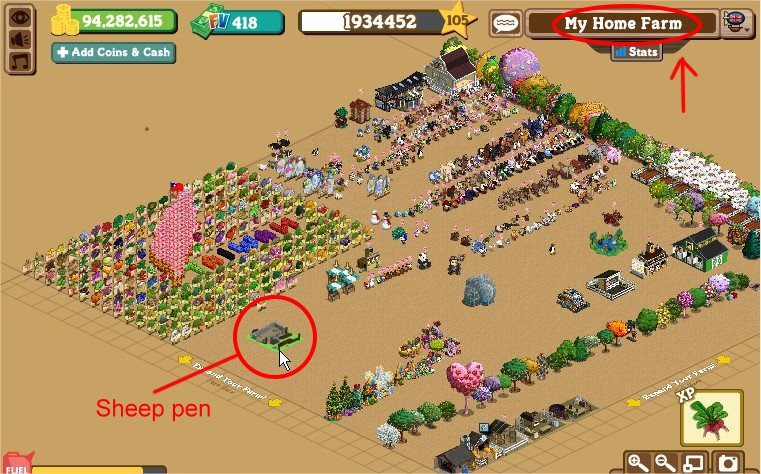 FarmVille, English quest