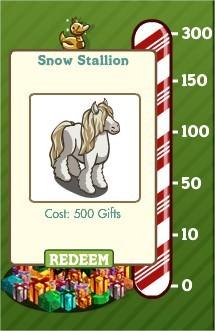 FarmVille, english horse