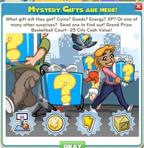 CityVille, Mystery Gift