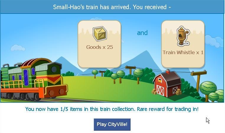 CityVille, Train