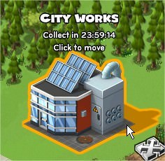 CityVille, City Works