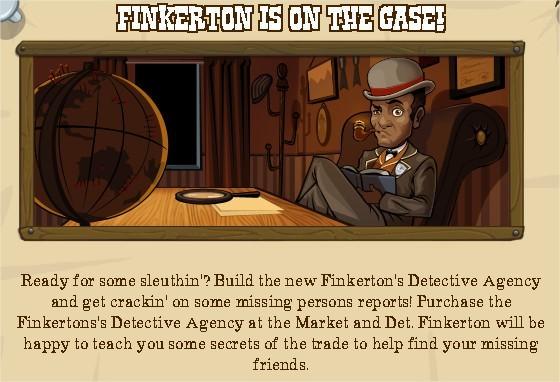 FrontierVille, Finkerton