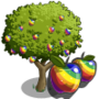 Rainbow Apple Tree 彩虹蘋果樹