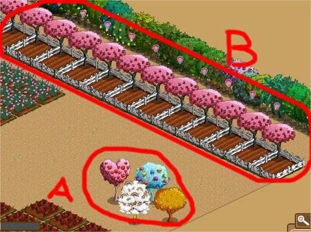 FarmVille, 果樹種子