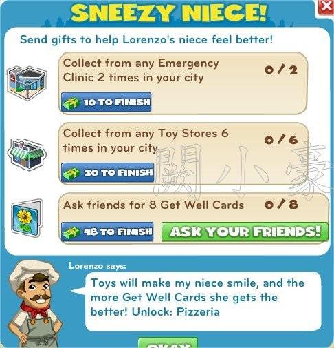 Sneezy Niece!