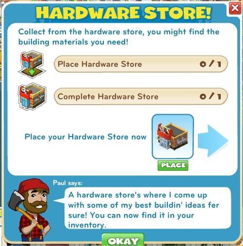 Hardware Store!