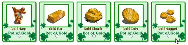 FarmVille, pot of gold