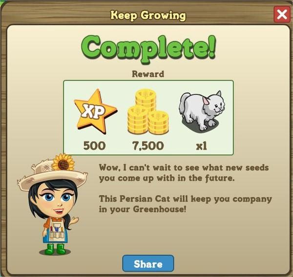 FarmVille, Keep Growing