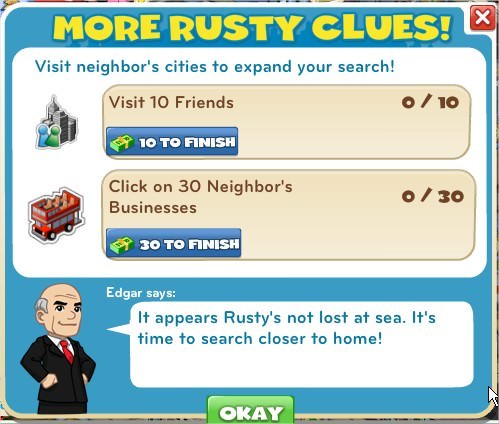 More rusty clues!