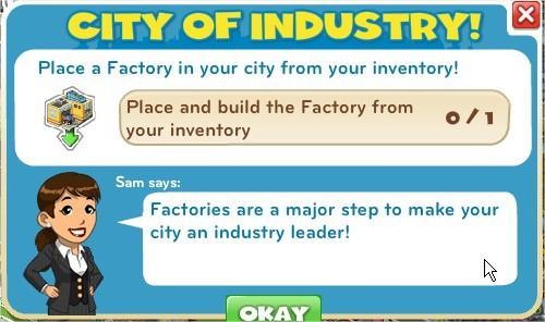 City of industry!