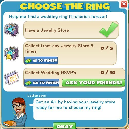 Choose the ring