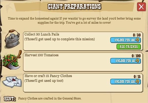 GIANT PREPARATIONS