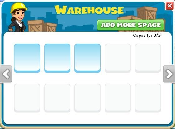 CityVille, Warehouse