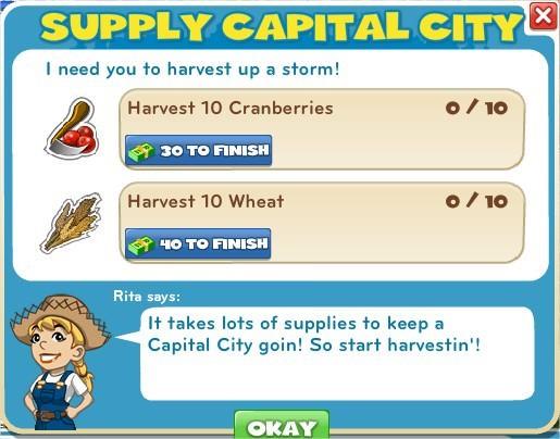 Supply Capital City