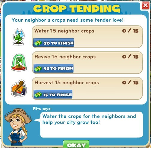 Crop Tending
