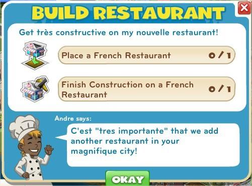 Build Restaurant
