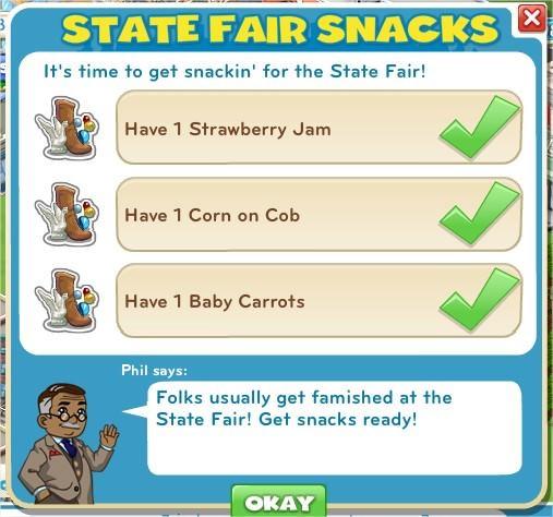 State Fair Snacks