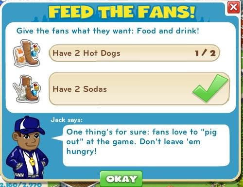Feed The Fans!