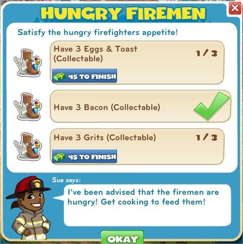 Hungry Firemen