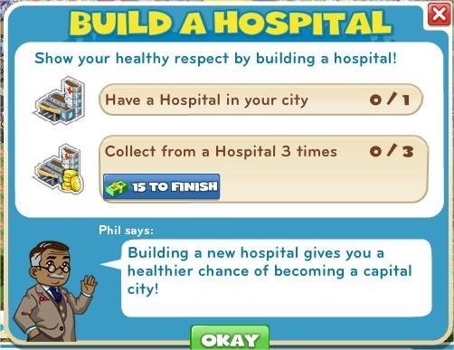 Build a Hospital