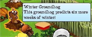 FrontierVille, Groundhog day