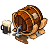 Birch Beer Barrel
