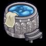 Silver Hot Tub