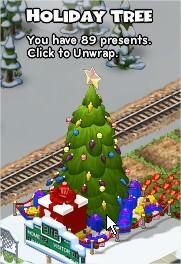 CityVille, 聖誕樹