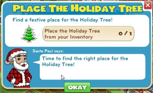 Place The Holiday Tree