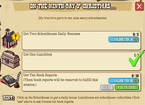 12 days o' christmas, IX