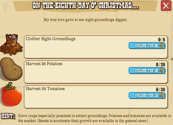 12 days o' christmas, VIII