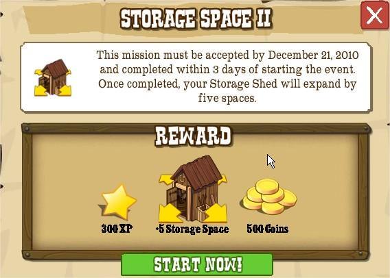 STORAGE SPACE II