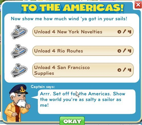 To The Americas!