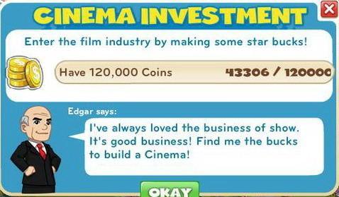Cinema Investment