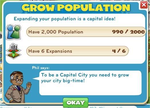 Grow Population