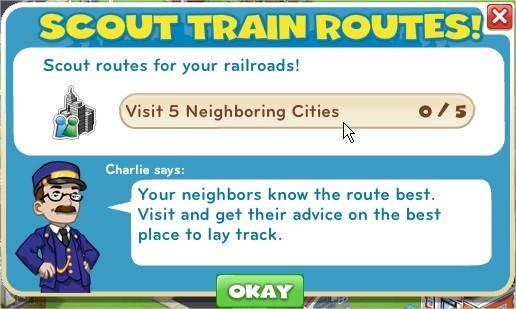 Scout Train Routes!