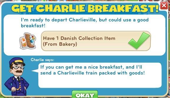 Get Charlie Breakfast!